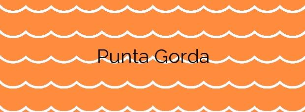 Información de la Playa Punta Gorda en Agaete