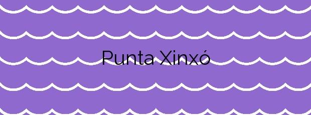 Información de la Playa Punta Xinxó en Sant Josep de sa Talaia