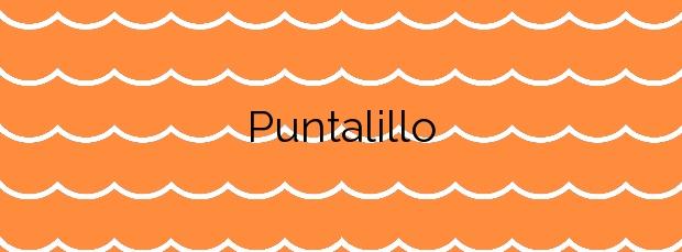 Información de la Playa Puntalillo en Rota