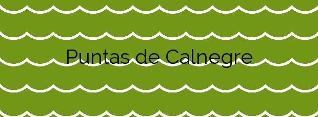 Información de la Playa Puntas de Calnegre en Lorca