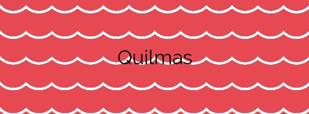 Información de la Playa Quilmas en Carnota