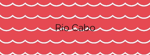 Información de la Playa Río Cabo en Cudillero