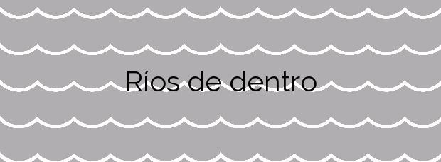 Información de la Playa Ríos de dentro en Vigo