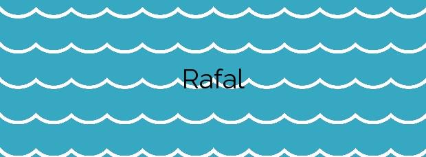 Información de la Playa Rafal en Águilas