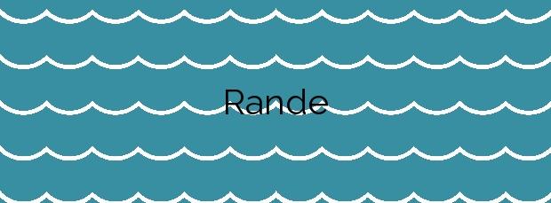 Información de la Playa Rande en Redondela