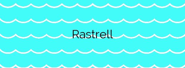 Información de la Playa Rastrell en Roses
