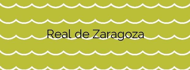 Información de la Playa Real de Zaragoza en Marbella