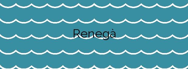 Información de la Playa Renegà en Oropesa del Mar