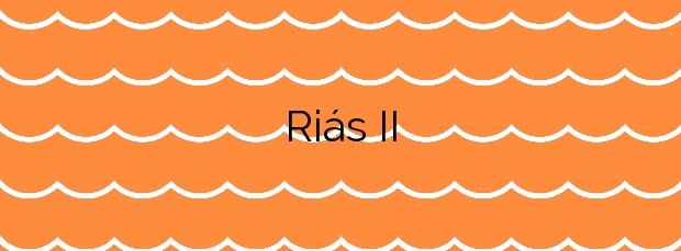 Información de la Playa Riás II en Malpica de Bergantiños