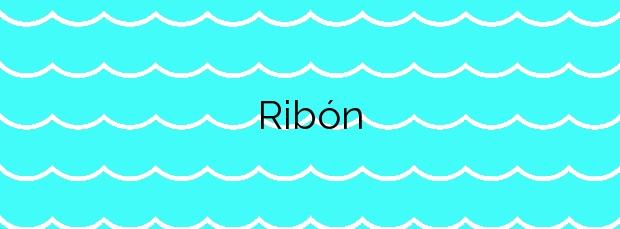 Información de la Playa Ribón en Valdés