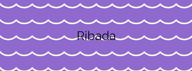 Información de la Playa Ribada en Ares