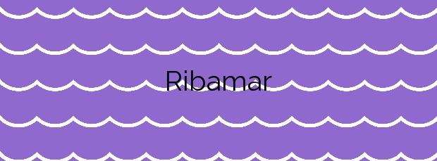 Información de la Playa Ribamar en Alcalà de Xivert