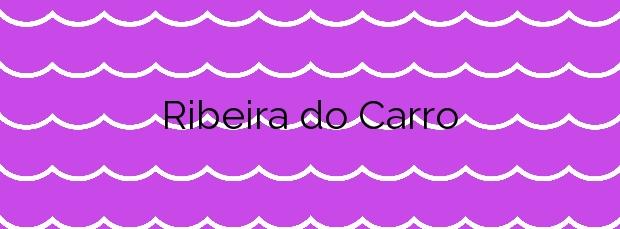 Información de la Playa Ribeira do Carro en Ortigueira