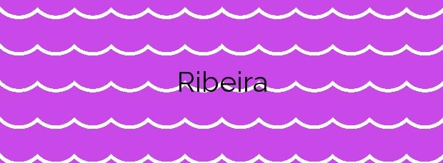 Información de la Playa Ribeira en Marín