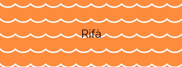 Información de la Playa Rifà en Mont-roig del Camp