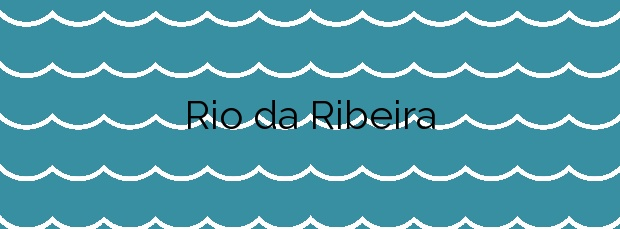 Información de la Playa Rio da Ribeira en Moaña