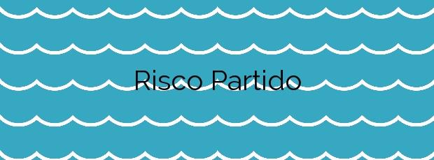 Información de la Playa Risco Partido en Gáldar