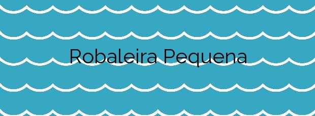 Información de la Playa Robaleira Pequena en Bueu