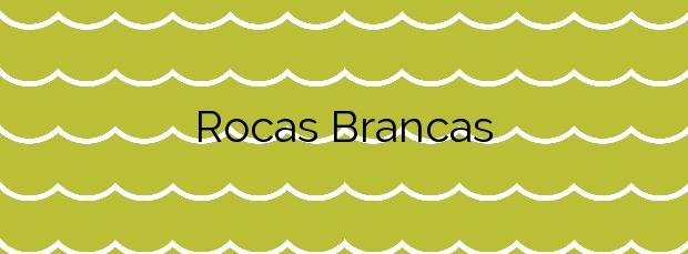Información de la Playa Rocas Brancas en Ribadeo