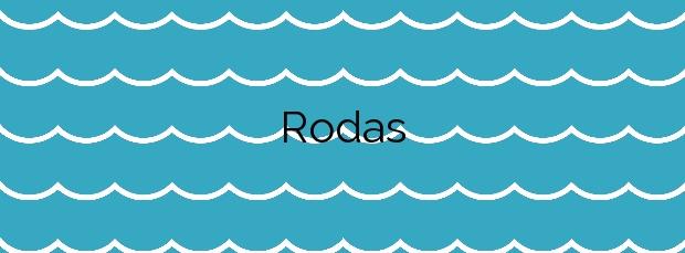 Información de la Playa Rodas en Vigo