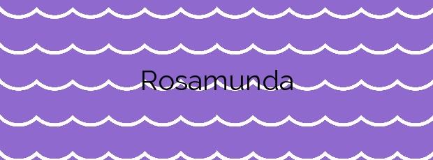 Información de la Playa Rosamunda en Santander
