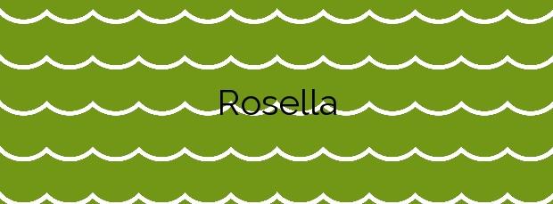 Información de la Playa Rosella en Valdoviño