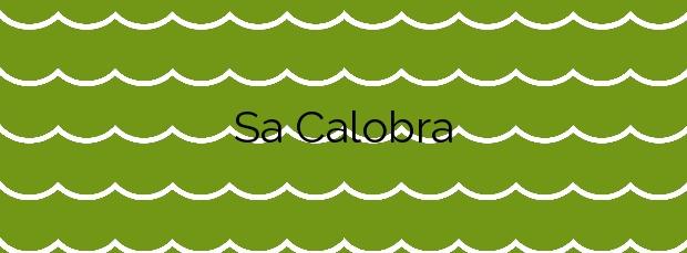 Información de la Playa Sa Calobra en Escorca
