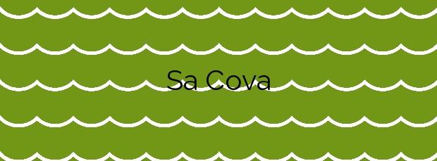 Información de la Playa Sa Cova en Valldemossa