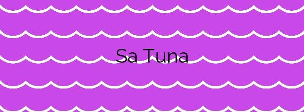 Información de la Playa Sa Tuna en Begur