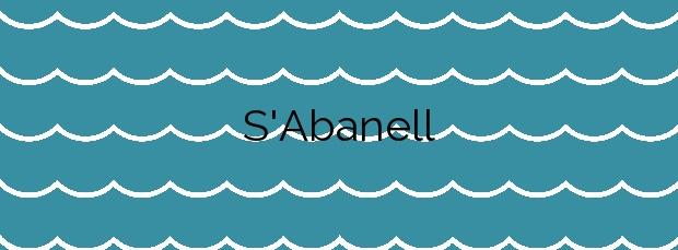 Información de la Playa S'Abanell en Blanes