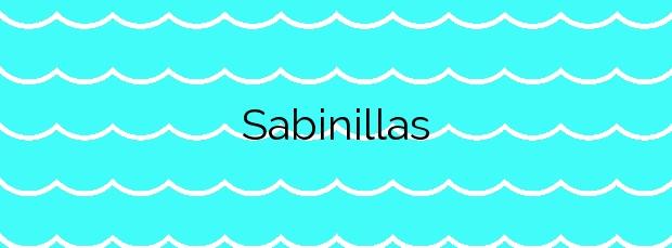Información de la Playa Sabinillas en Manilva