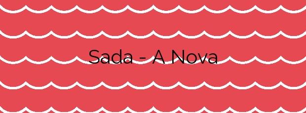 Información de la Playa Sada – A Nova en Sada