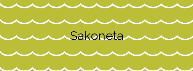 Información de la Playa Sakoneta en Deba