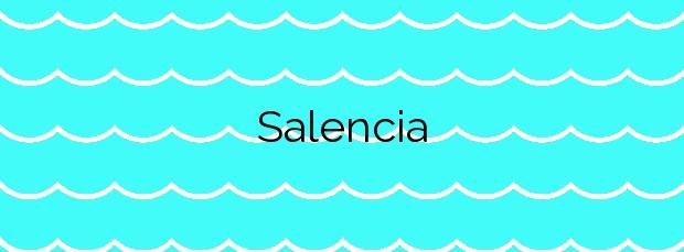 Información de la Playa Salencia en Cudillero