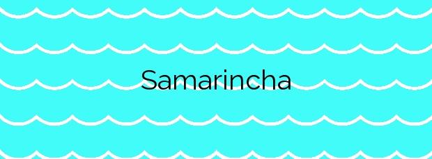 Información de la Playa Samarincha en Gozón