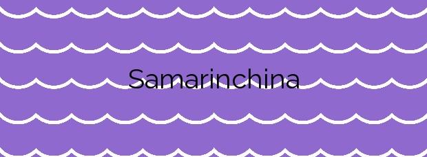 Información de la Playa Samarinchina en Gozón