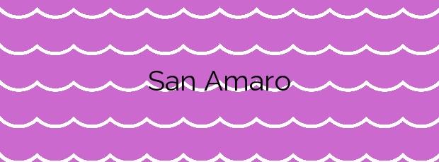 Información de la Playa San Amaro en A Coruña