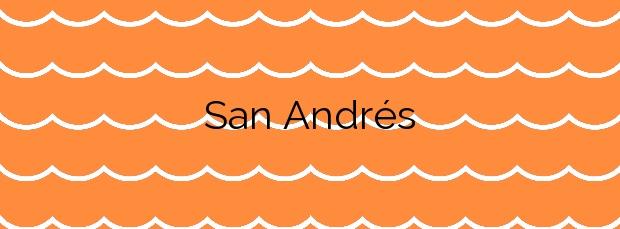Información de la Playa San Andrés en Arucas