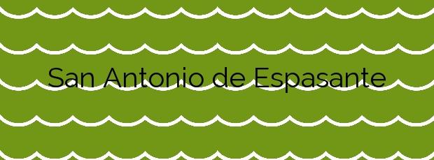 Información de la Playa San Antonio de Espasante en Ortigueira