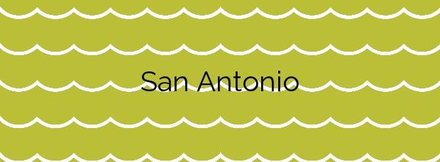 Información de la Playa San Antonio en Llanes