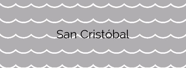 Información de la Playa San Cristóbal en Almuñécar