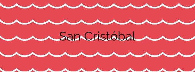 Información de la Playa San Cristóbal en Las Palmas de Gran Canaria