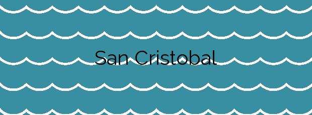 Información de la Playa San Cristobal en Ferrol