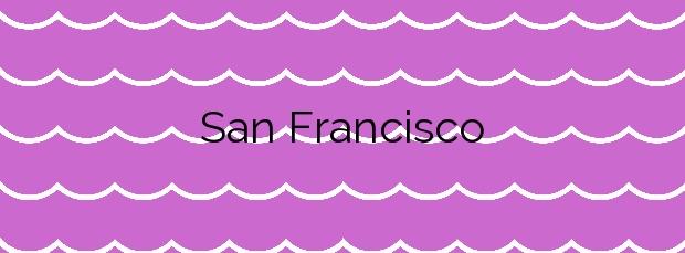 Información de la Playa San Francisco en Muros