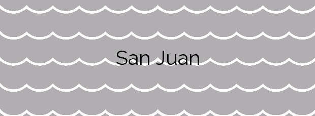 Información de la Playa San Juan en Castrillón