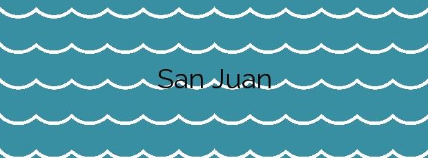 Información de la Playa San Juan en Guía de Isora