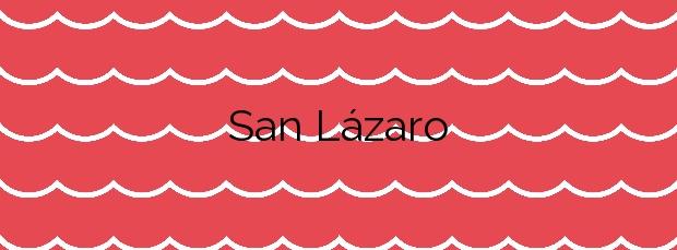 Información de la Playa San Lázaro en A Pobra do Caramiñal