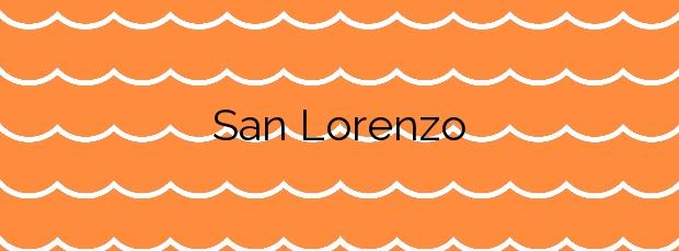 Información de la Playa San Lorenzo en Moya
