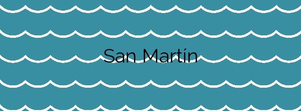 Información de la Playa San Martín en Llanes