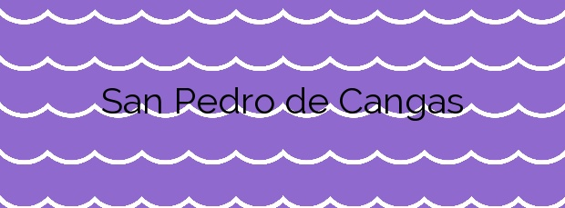 Información de la Playa San Pedro de Cangas en Foz